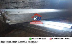 Jual Guardrail Murah Tebal 4,5mm Galvanis Hotdeep Tahan Karat